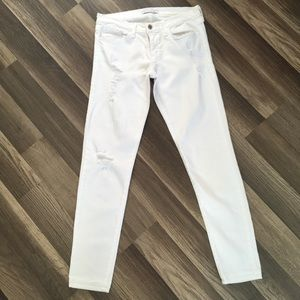 Flying Monkey White Destroyed Jeans